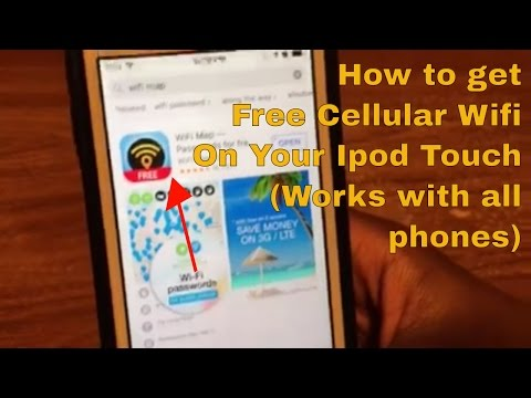 How to get Free Cellular Wifi on your iPod touch. (This works for any iOS or Android Device)