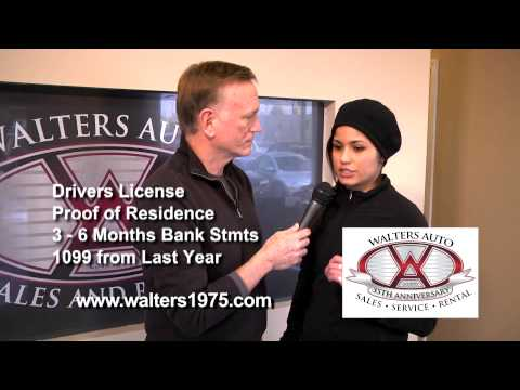 Walters Auto Group - Nora - Self Employed Finance Approval!