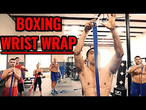 How to Wrap Wrists for BOXING (with Kickboxing Coach Mike Zhang)