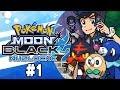 Download  Pokemon Moon Black 2 Nuzlocke Part 1 GEN 7! Pokemon NDS Rom Hack MP3,3GP,MP4