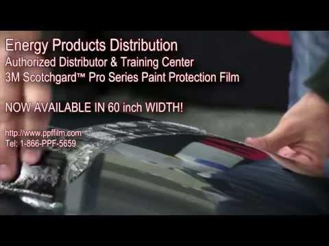 3m Paint Protection Film Installation Wmv 3m Scotchgard