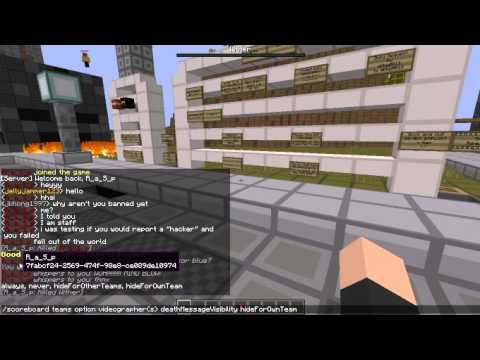 Minecraft Command Tutorial: How to change your name color