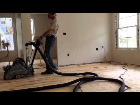 Barn Wood floor Restoration