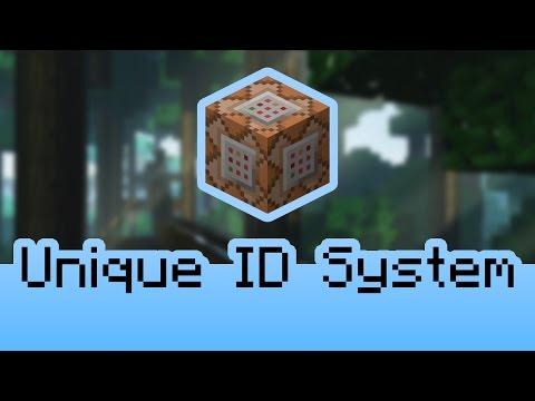 Minecraft Command Blocks - Unique ID System