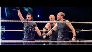 Triple H Joins The Shield For Match At WWE Live Event