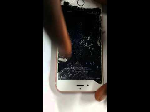 Iphone 6s glass repair. The cheapest and fastest way to do it...