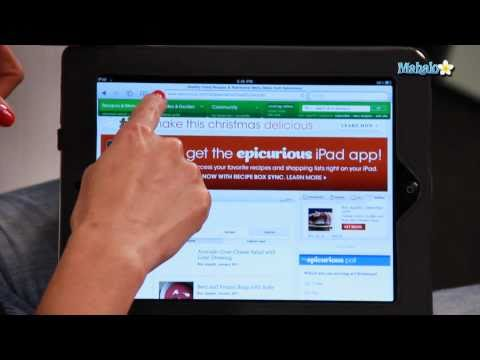 How to Bookmark a Website on The iPad