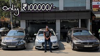 Luxury Cars under 1 Lakhs🔥| Audi, BMW, Mercedes, Innova | DELHI | Tushar 51NGH