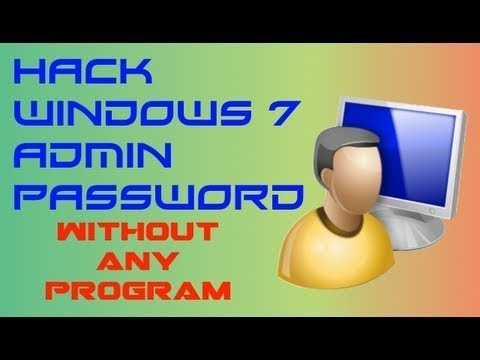 Hack Windows 7 Admin Password EN | HD