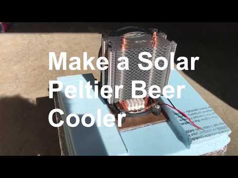 Make Solar Beer Cooler