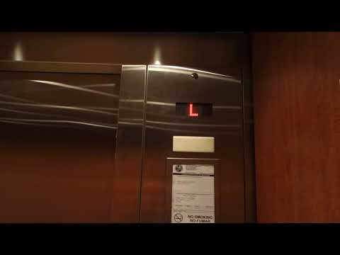 EPIC!!! KONE Traction Elevators @ Crowne Plaza Orlando, Universal Blvd, Orlando, FL, USA.