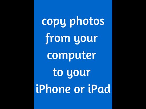 Copy photos onto your iphone easily!