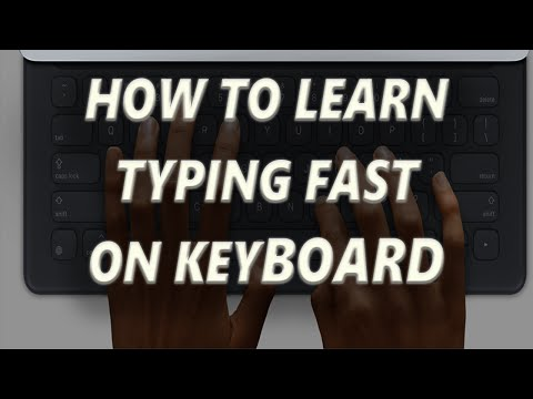 how to type faster on the keyboard | how to learn typing fast on keyboard for free