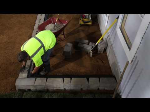 Cómo Instalar un Muro de Retención con Esquinas de 90° con Base Block