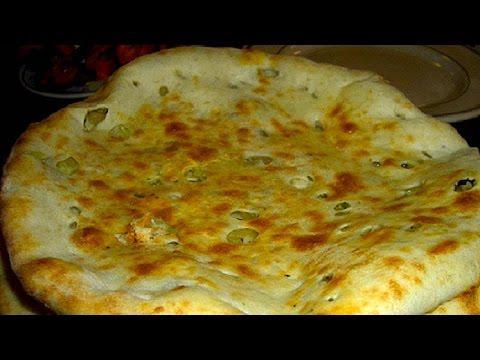How to make KULCHA Recipe Video - Indian flat bread recipe by Bhavna