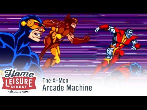 X-Men Arcade Machine (Konami 1992)