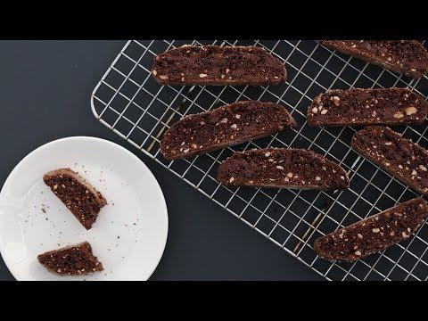 Chocolate-Hazelnut Biscotti- Kitchen Conundrum with Thomas Joseph