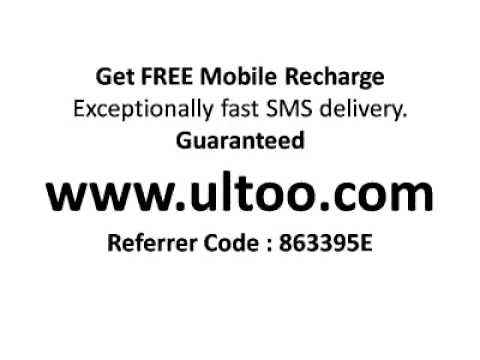 Get Free Mobile Recharge - Guaranted
