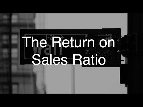 The Return on Sales Ratio