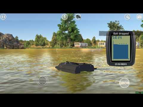 Carp Fishing Simulator - New Bait Boat Camera