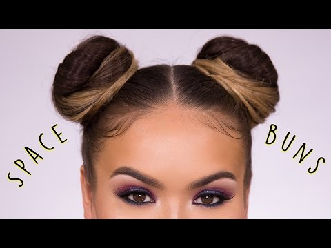 Space Buns EASY How-To Hairstyle Tutorial | Maryam Maquillage