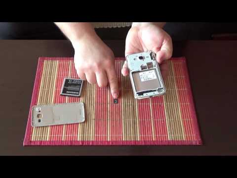 How to insert micro SD memory card and micro SIM card in samsung galaxy J3 2016 duos
