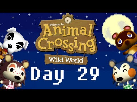 365 Days of Animal Crossing: Wild World -Day 29- Preparing for the 1 month anniversary