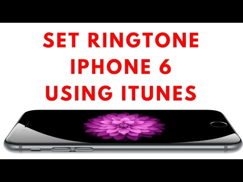 How to Set Ringtone on iPhone 6 using iTunes UPDATED