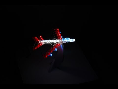 Handmade LED Plane | How to do it?
