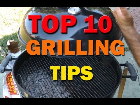 Top 10 Charcoal Grilling Tips for Beginners