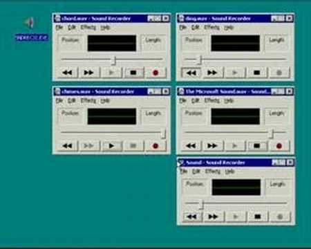 Music with Windows sounds