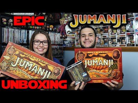 EPIC Jumanji Unboxing!! [Original // New Board Games // 4K Steelbook!!]