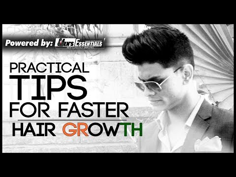 5 Tips To Grow Your HAIR FASTER | Healthy Hair Care Tips for Indian Men | Mayank Bhattacharya