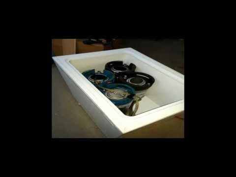 Beer keg freezer build