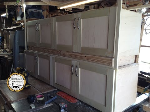 Woodworking : DIY Overlay Doors And Concealed Hinges // How-To
