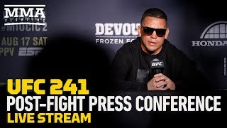 Download UFC 241 Post-Fight Press Conference - MMA Fighting Video