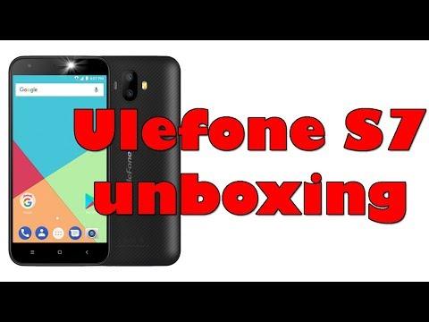 Ulefone S7 [ UNBOXING ] 4K