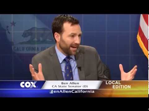 Charter-Cox Local Edition with CA State Senator Ben Allen (D)