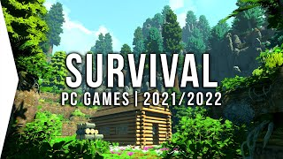 15 New Upcoming PC Survival Games in 2021 & 2022 ► Best Open World, Crafting, Base Building!
