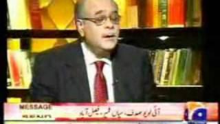 Najam Sethi comments on Altaf Hussain