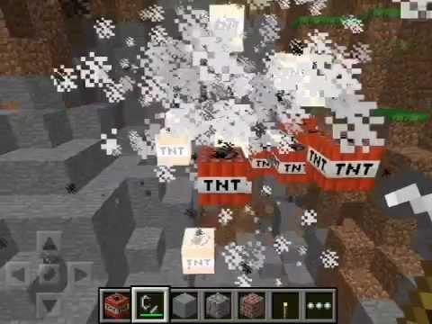 Minecraft PE Ignite TNT In Creative  Mod