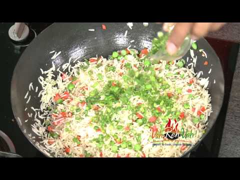 VEGETABLE FRIED RICE - In Telugu