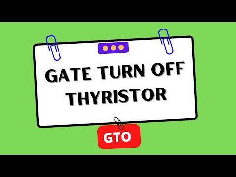 #EEE - Gate Turn Off Thyristor (GTO)