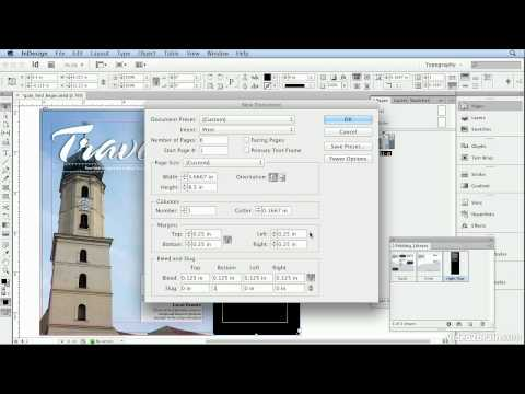 Adobe Indesign CS6 Tutorial - 66  Creating Folding Spreads