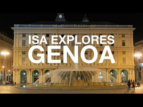 Isa Explores Genoa, Italy