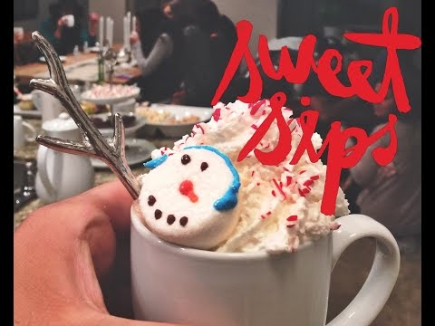 Christmas Hot Chocolate Party! Enjoy it with your Ugly Sweater!