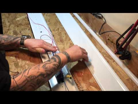 Install Lithonia Fluorescent Lights in Garage or Shop Ceiling & Review