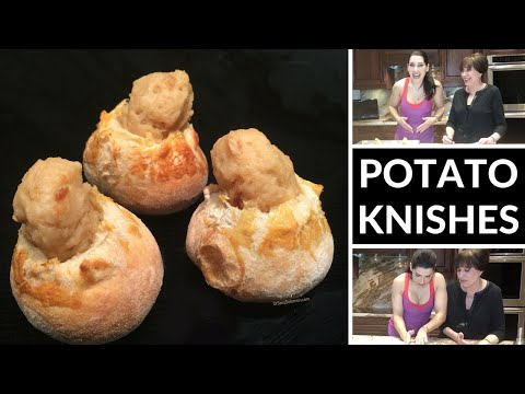 How to Make Delicious Potato Knishes (with Mom)