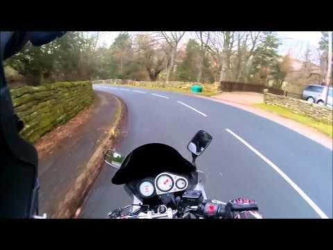 Motorbike Chain snaps.