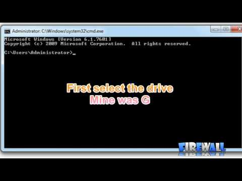 How to delete System Volume Information folder [F!R3W4LL]